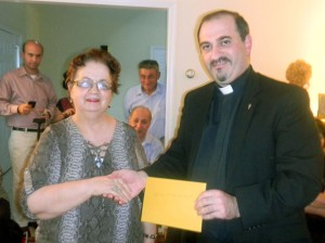 ST. ILLUMINATOR'S DAY SCHOOL RECEIVES GIFT