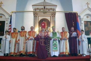ORDINATION OF DEACON KRIKOR ESAYAN AT ST. ILLUMINATORS
