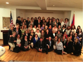 Participants of the ARS Eastern USA Regional Educational Seminar with Dr. Chris Sasouni and Mr. Bared Maronian