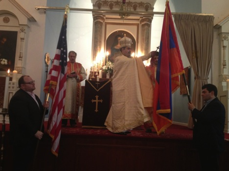 FLAG BLESSING AND PRAYERS FOR THE REPUBLIC OF ARMENIA