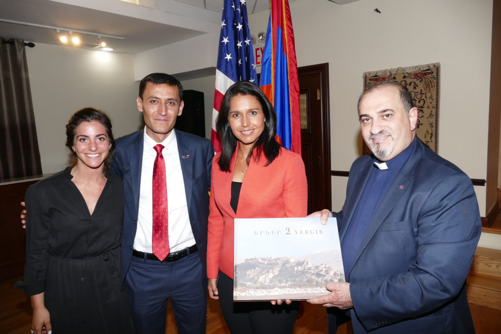 Rep  Gabbard Meets with the Armenian-American Community Ahead of Her